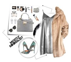 """Mostly minimalist"" by dinna-mehic ❤ liked on Polyvore featuring Post-It, River Island, Lilli Ann, NARS Cosmetics, NYX, Gucci, MAC Cosmetics, Chanel, Urban Decay and Fallon"