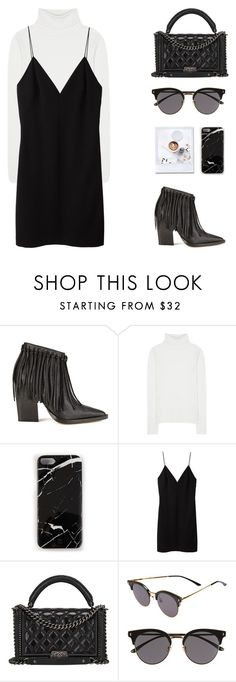 """""""N°257"""" by yellowgrapes ❤ liked on Polyvore featuring By Malene Birger, Chloé, Case Scenario, T By Alexander Wang, Chanel and Gentle Monster"""