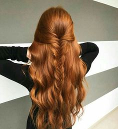 Best And Amazing Red Hair Color And Styles To Create This Summer; Red Hair Color And Style; Giner And Red Hair Color; Ginger Hair Color, Red Hair Color, Hair Colors, Color Red, Ginger Brown Hair, Ginger Hair Dyed, Henna Hair Color, Purple Hair, Pretty Hairstyles