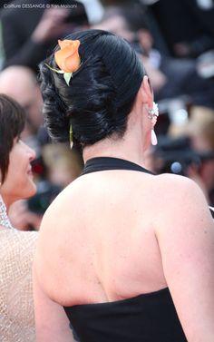 Rossy de Palma #dessange #cannes2015 #coiffeurofficiel Cannes Film Festival 2015, Cannes 2015, Star Francaise, Palais Des Festivals, Hairdresser, Red Carpet, Fashion, Cannes Film Festival, Palms