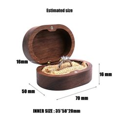 Ring Holder Wedding, Engraved Wedding Rings, Wooden Ring Box, Wooden Rings, Proposal Ring Box, Jewelry Display Box, Ring Bearer Box, Wedding In The Woods, Ring Boxes