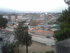 La zona 2 de la Cuidad de Guatemala vista desde el Cerrito del Carmen.