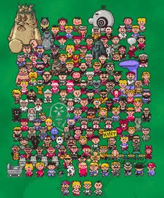 """Anyone else remember """"Earthbound""""? This gem of an RPG for the Super Nintendo is one of my favorite video games of all-time. CRIMINALLY under-appreciated!"""