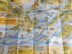 Vintage 90s Virginia Blue Ridge Highlands Map Guide Travel #Vintage 90s #Virginia #BlueRidge #Highlands #Map #Guide #Travel #Brochure local #Advertising #Route #road #tourist #guide #souvenir #print #AD #ephemera #etsy #studio