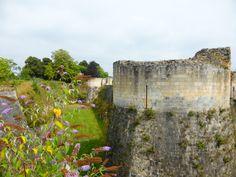 Vestiges du #donjon du #château de #Caen, fondé vers 1060 par Guillaume le Conquérant #Calvados #Normandie