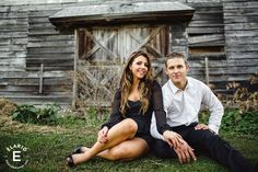 farm engagement session, engagement shoot ideas, rustic engagement photos #engagement #outfitideas #rustic #lbd