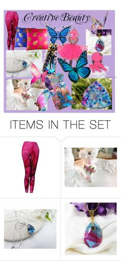"""""""Creative Beauty"""" by omearascottagecharm ❤ liked on Polyvore featuring art"""