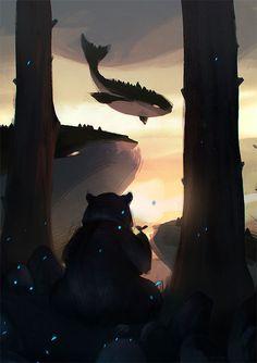 #fantasy_illustration #animal_illustration