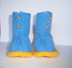 Ma première paire de bottes bébé taille 3 mois : Mode Bébé par marie-boutdefil