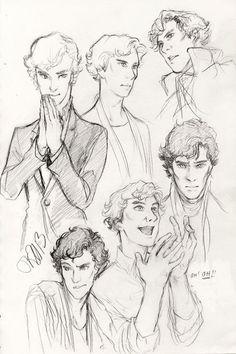 Sherlock fan art: