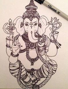 #Ganesha#induismo#india#tatuaje