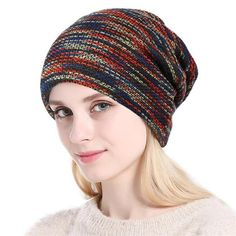 9817565871d Knitted Women Beanie ~ Autumn Winter Cap