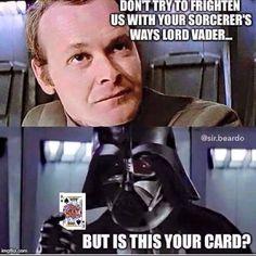 Darth Vader was such a badass.