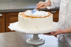 Secrets to Making a Wedding Cake | The Feed - this is good for any tiered cake.