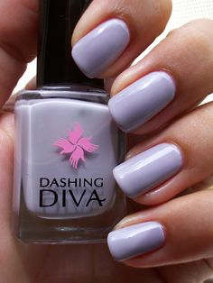 Dashing Diva Milk Mauve 3 coats | Flickr - Photo Sharing!