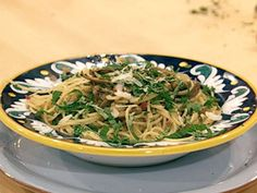 Rachael Ray Springtime Spaghetti with Artichokes and Herbs - Amazing!