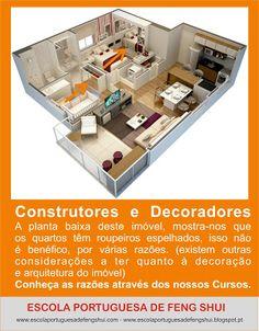 Escola Portuguesa de Feng Shui: ROUPEIROS COM ESPELHO