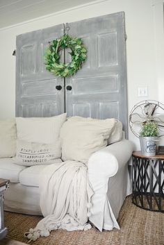 Painted Doors Makeover -