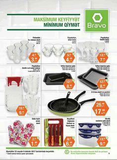 Həyatınıza rahatlıq, evinizə gözəllik qatacaq mətbəx əşyaları minimum qiymətə Bravo-da!  Comfort to your life and beauty to your home kitchen utensils are available for minimum prices at Bravo!