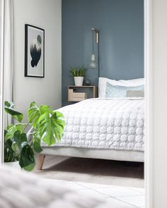 Finally Weekend, Bedroom Inspo, Wall Colors, Nars, Comforters, Ikea, Couch, Blanket, Interior