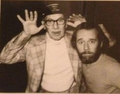 Groucho Marx and George Carlin