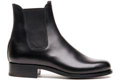 J.M. Weston - Weston - Chaussure Femme Cuir - Bottine Noire 705- out of stock