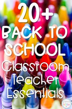 This list of 20+ back to school teacher must-haves and classroom essentials includes supplies and resources for the first week of school, engaging activities to get to know your students, back to school books, classroom management ideas, and so much more! #backtoschool #classroommanagement #classroomessentials #backtoschoolbooks Get To Know You Activities, Back To School Activities, Classroom Activities, School Ideas, Classroom Procedures, Class Activities, First Year Teachers, Back To School Teacher, Elementary Teacher