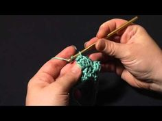 Crochet Popcorn Stitch (video tutorial)