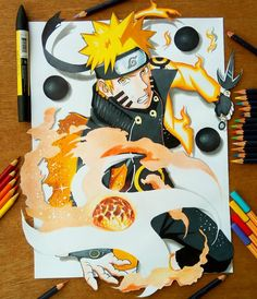 Naruto lava rasengan done ✨ think j fucked up the rasengan part tho. Pls tell me what u think of it guys have a gr8 day…
