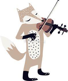 FOXY VIOLINIST by tonadisseny