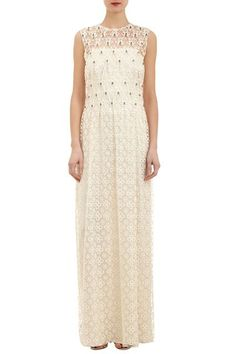 17 Non-Bridal Dresses For The Low-Key Bride #refinery29  http://www.refinery29.com/wedding-dress-search#slide-8