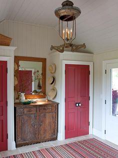 Sarah Richardson- Red doors