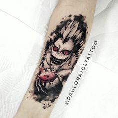 Comics, Geek, Nerd e Otaku: As tatuagens inspiradas nos personagens de quadrinhos, mangás e animes! Ufo Tattoo, Manga Tattoo, Anime Tattoos, Leg Tattoo Men, Leg Tattoos, Body Art Tattoos, Cool Tattoos, Tatoos, Gamer Tattoos
