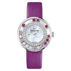 Swarovski Lovely Crystals Magenta Ladies' Watch Swiss Quartz MIB - 1160309 for sale online Swarovski Watches, Swarovski Jewelry, Swarovski Crystals, Crystal Jewelry, Magenta, Watches For Men Unique, Mens Watch Brands, Fashion Watches, Men's Watches