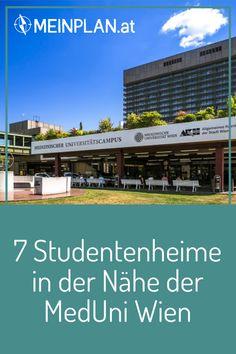 Du beginnst dein Studium an der MedUni Wien und bist noch auf der Suche nach einem Studentenheim in der Nähe vom Campus? Wir haben eine Übersicht der Heime - damit du möglichst viel Zeit fürs Studentenleben hast und nicht unnötig lange mit den Öffis pendeln musst. Edith Stein, U Bahn, Broadway Shows, Student Home, Student Dormitory, To Study, Green Life