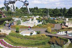 Мини-Европа парк в Брюсселе где представлены миниатюры достопримечательностей 80 городов из 27 стран Европы