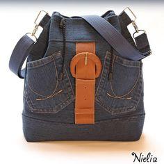 Nielia - сумки из джинсов (часть1) / Переделка джинсов / ВТОРАЯ УЛИЦА