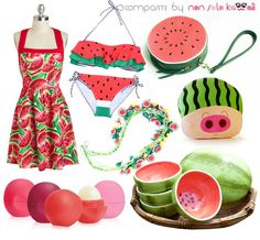 non solo Kawaii - Focus on: Watermelon Anguria Cocomero