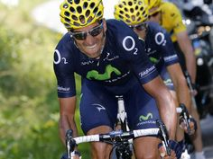 2013 7/7 rit 9 > Movistar tried everything to push the pace but can't distance Christopher Froome