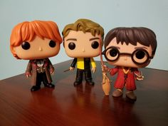 Harry Potter, Cedric Diggory & Ron in dress robes Funko Pops! | See Harry Potter and the Goblet of Fire in IMAX at TropicanaAC!