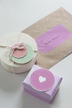 {Freebie} Printable Gift Tags | fellowfellow