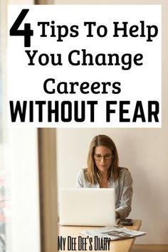 A big career change can be a terrifying experience. Here is some important career advice to help you change careers without fear Career Success, Career Change, New Career, Change Mindset, Dream Career, Career Path, Dream Job, Life Advice, Career Advice