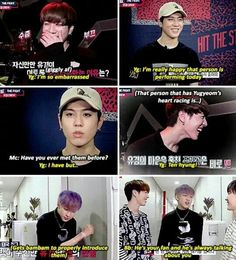 Whats funny is that Yugyeom is Ten's senior but Ten is Yugyeom's hyung
