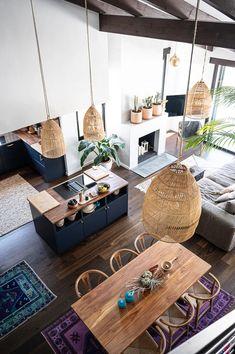 Luxury Homes Interior, Interior Design, Home Design Floor Plans, House Plants Decor, Open Concept Kitchen, Home Remodeling, Sweet Home, Bedroom Decor, House Design