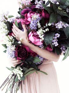 Beautiful bunch of flowers.
