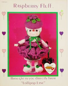 Dumplin Designs Raspberry Fluff Crochet Pattern