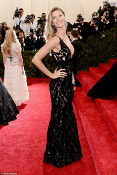 Ready for anything: Gisele Bündchen has admitted becoming a mother to Benjamin, five, and ...