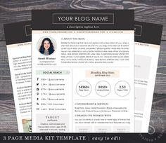 Product Media Kit Template   Press Kit  Pitch Kit  Product