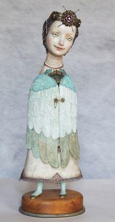 green - angel - Gulya Alekseeva - Гуля Алексеева