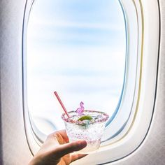 cocktails on a plane//